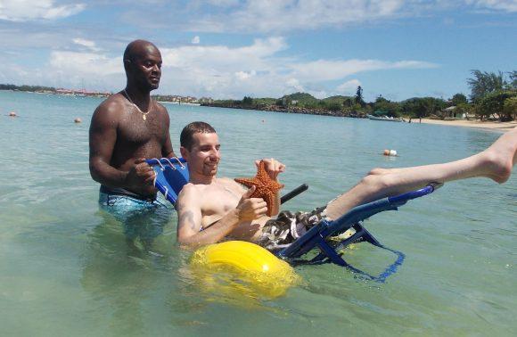 Disabledtouren Soufriere Tour für Rollstuhlfahrer